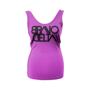 Ladies Hot Pink Tank