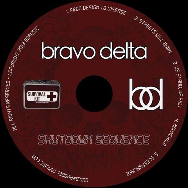 Shutdown Sequence cd art by Bravo Delta