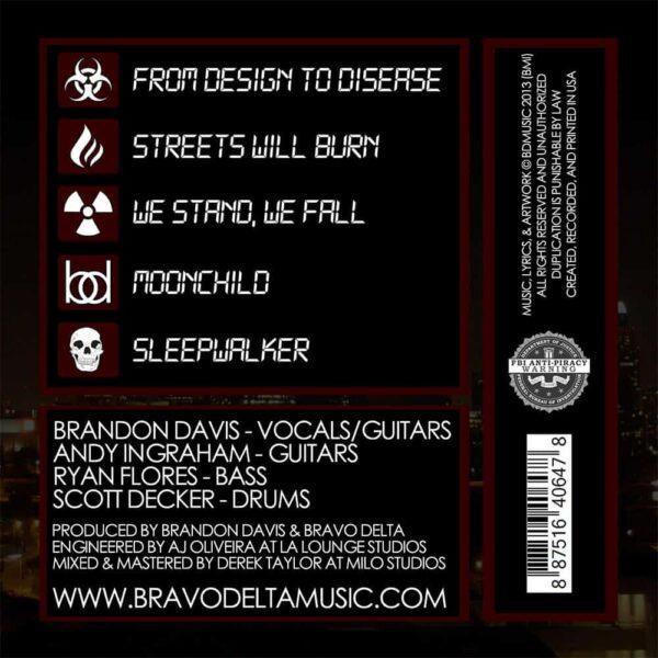Shutdown Sequence album inside panel by Bravo Delta